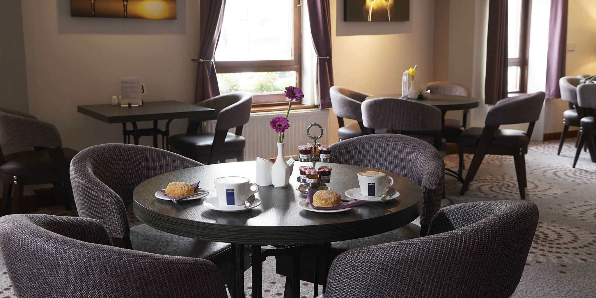 Priory Hotel dining room